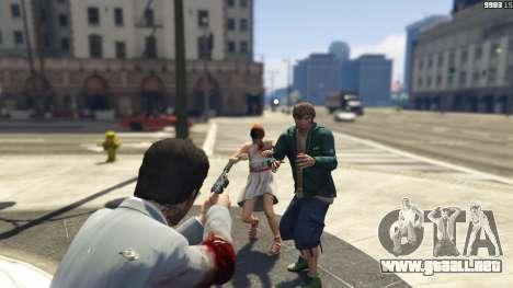 GTA 5 Realistic Bullet Damage