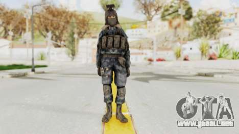 COD 4 Custom Russian Soldier para GTA San Andreas segunda pantalla