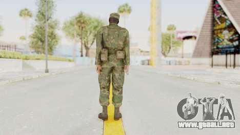 MGSV Ground Zeroes US Soldier Armed v1 para GTA San Andreas tercera pantalla