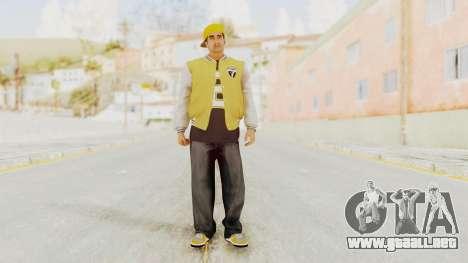 GTA 5 Los Santos Vagos Member 2 para GTA San Andreas segunda pantalla