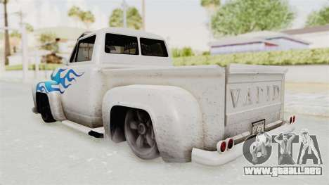 GTA 5 Slamvan Lowrider PJ1 para GTA San Andreas left