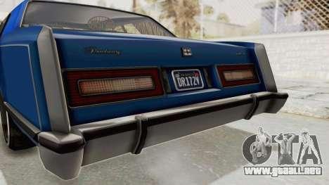 GTA 5 Dundreary Virgo Classic Custom v1 IVF para vista inferior GTA San Andreas