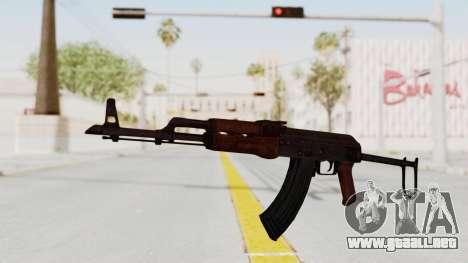 kbk AKMS para GTA San Andreas segunda pantalla