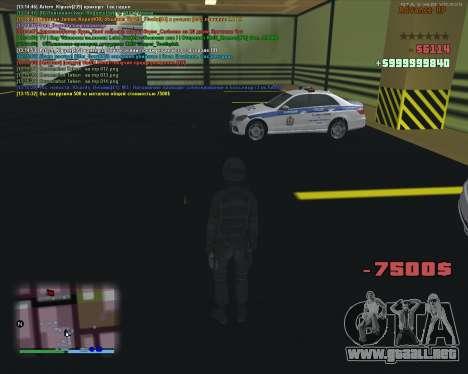 CLEO Fakearmy para GTA San Andreas tercera pantalla
