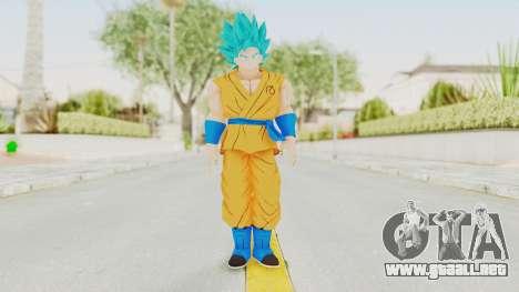 Dragon Ball Xenoverse Goku SSGSS V2.0 para GTA San Andreas segunda pantalla