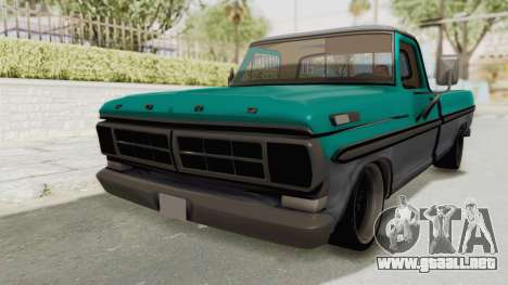 Ford F-150 Black Whells Edition para GTA San Andreas