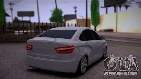 Lada Vesta Stock para la visión correcta GTA San Andreas