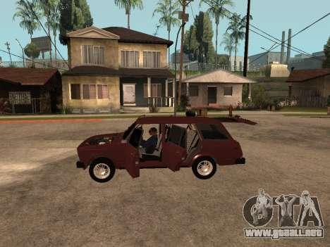 VAZ 2104 para visión interna GTA San Andreas