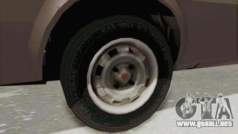 Vauxhall Cavalier MK1 Coupe para GTA San Andreas vista hacia atrás