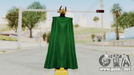 Marvel Future Fight - Loki para GTA San Andreas tercera pantalla