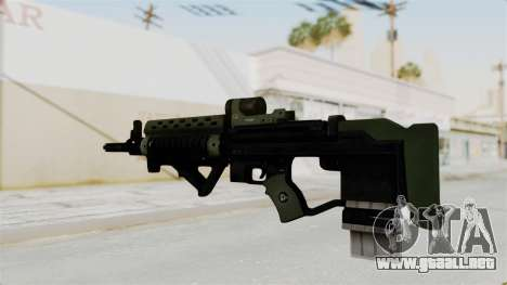 Killzone - M82 Assault Rifle para GTA San Andreas segunda pantalla