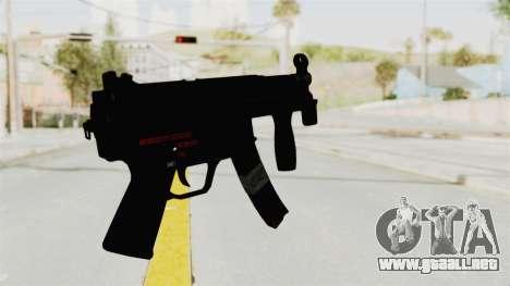 M5K para GTA San Andreas segunda pantalla