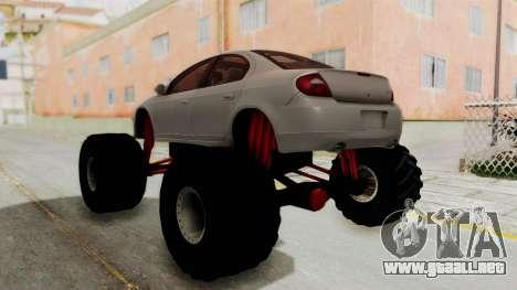 Dodge Neon Monster Truck para GTA San Andreas left