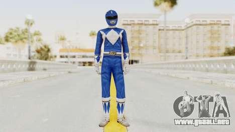 Mighty Morphin Power Rangers - Blue para GTA San Andreas segunda pantalla