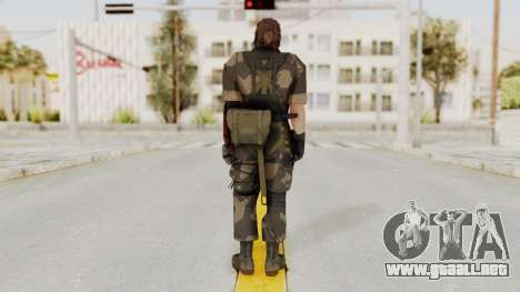 MGSV The Phantom Pain Venom Snake No Eyepatch v4 para GTA San Andreas tercera pantalla