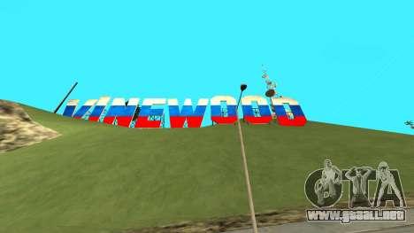 New Vinewood Russia para GTA San Andreas