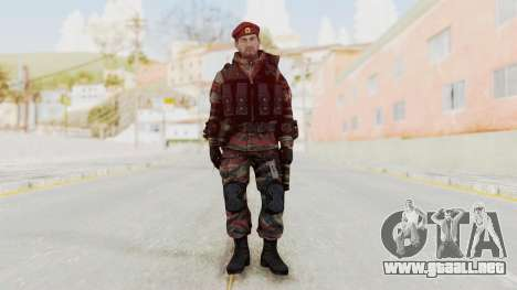 Battery Online Russian Soldier 1 v2 para GTA San Andreas segunda pantalla
