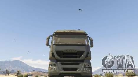 GTA 5 Iveco Stralis HI-WAY vista lateral derecha