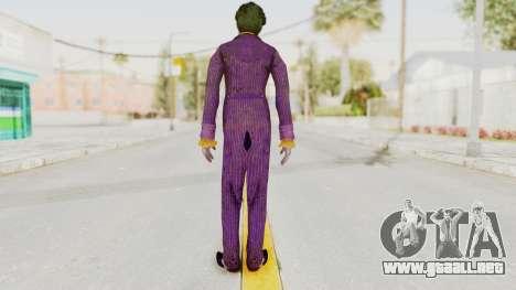 Batman Arkham Knight - Joker para GTA San Andreas tercera pantalla