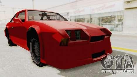 Imponte Centauro - Civil Hotring Racer A para la visión correcta GTA San Andreas