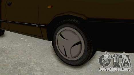 Dacia 1310 Berlina 2001 Stock para GTA San Andreas vista hacia atrás