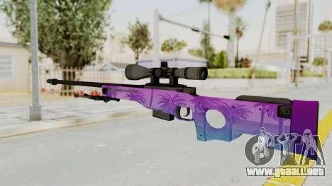 Vice AWP para GTA San Andreas segunda pantalla