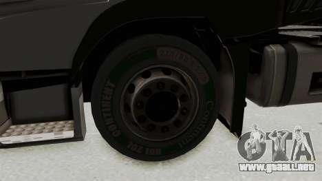 Volvo FM Euro 6 6x4 v1.0 para GTA San Andreas vista hacia atrás