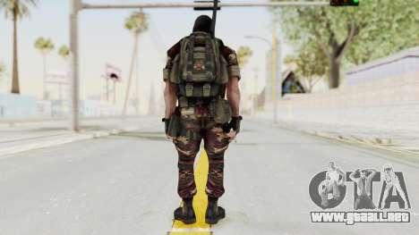 Battery Online Russian Soldier 3 v2 para GTA San Andreas tercera pantalla