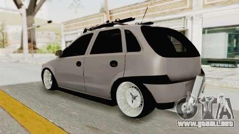 Opel Corsa para GTA San Andreas left