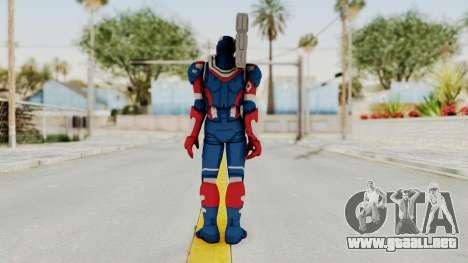 Marvel Heroes - Iron Patriot para GTA San Andreas tercera pantalla