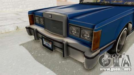 GTA 5 Dundreary Virgo Classic Custom v1 IVF para vista lateral GTA San Andreas