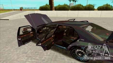 Mercedez-Benz W140 para la visión correcta GTA San Andreas