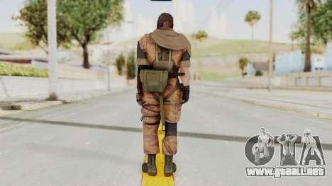 MGSV The Phantom Pain Venom Snake Sc No Patch v5 para GTA San Andreas tercera pantalla