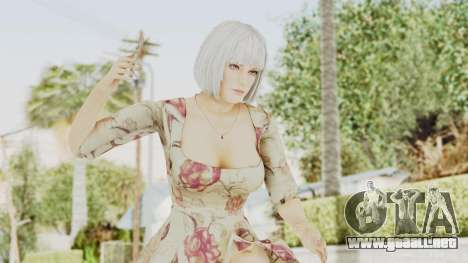 Dead Or Alive 5 LR - Christie Casual New Hair para GTA San Andreas