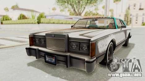 GTA 5 Dundreary Virgo Classic Custom v3 para GTA San Andreas interior