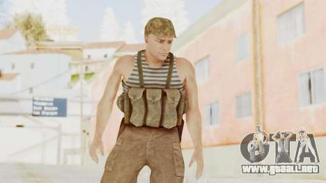 MGSV The Phantom Pain Soviet Union Tanktop v2 para GTA San Andreas