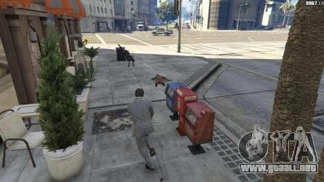 GTA 5 Realistic Bullet Damage quinta captura de pantalla