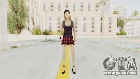 New Skin Michelle para GTA San Andreas segunda pantalla