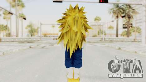 Dragon Ball Xenoverse Vegito SSJ3 para GTA San Andreas tercera pantalla