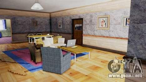 CJs House New Interior para GTA San Andreas