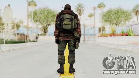 Battery Online Russian Soldier 9 v2 para GTA San Andreas tercera pantalla