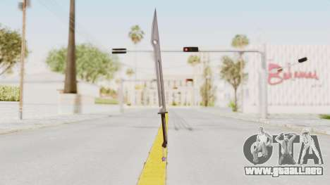 Saints Row 3 - Deckers Sword (Saints Style) para GTA San Andreas segunda pantalla