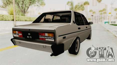 Fiat 131 Supermirafiori 1977 para GTA San Andreas left
