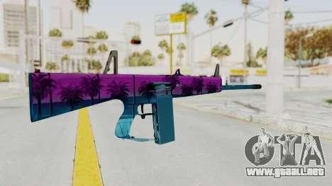 Vice AA-12 para GTA San Andreas segunda pantalla