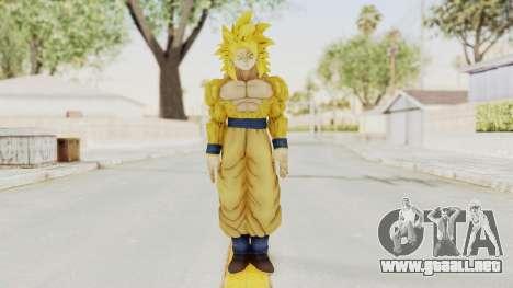 Dragon Ball Xenoverse Goku SSJ4 Golden para GTA San Andreas segunda pantalla