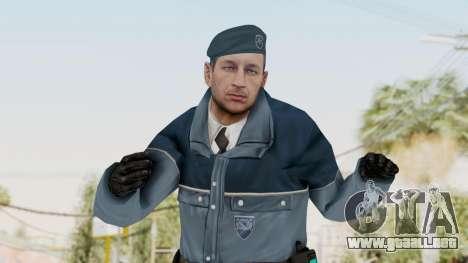 Bourne Conspirancy Zurich Police v1 para GTA San Andreas