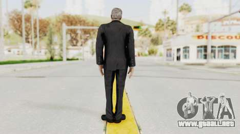 Batman Arkham Origins - Alfred para GTA San Andreas tercera pantalla
