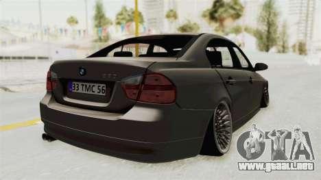 BMW 330i E92 Camber para GTA San Andreas left