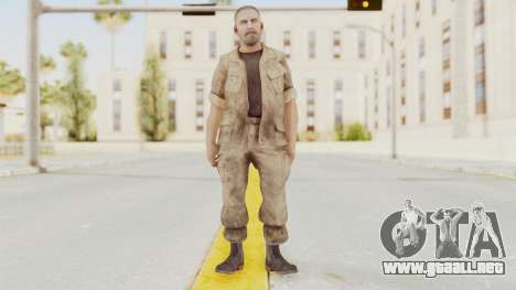 COD BO Reznov Macv para GTA San Andreas segunda pantalla