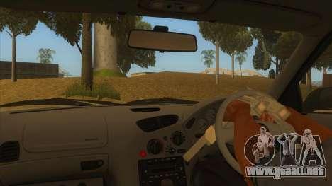 Mazda RX7 S Spirit R para visión interna GTA San Andreas